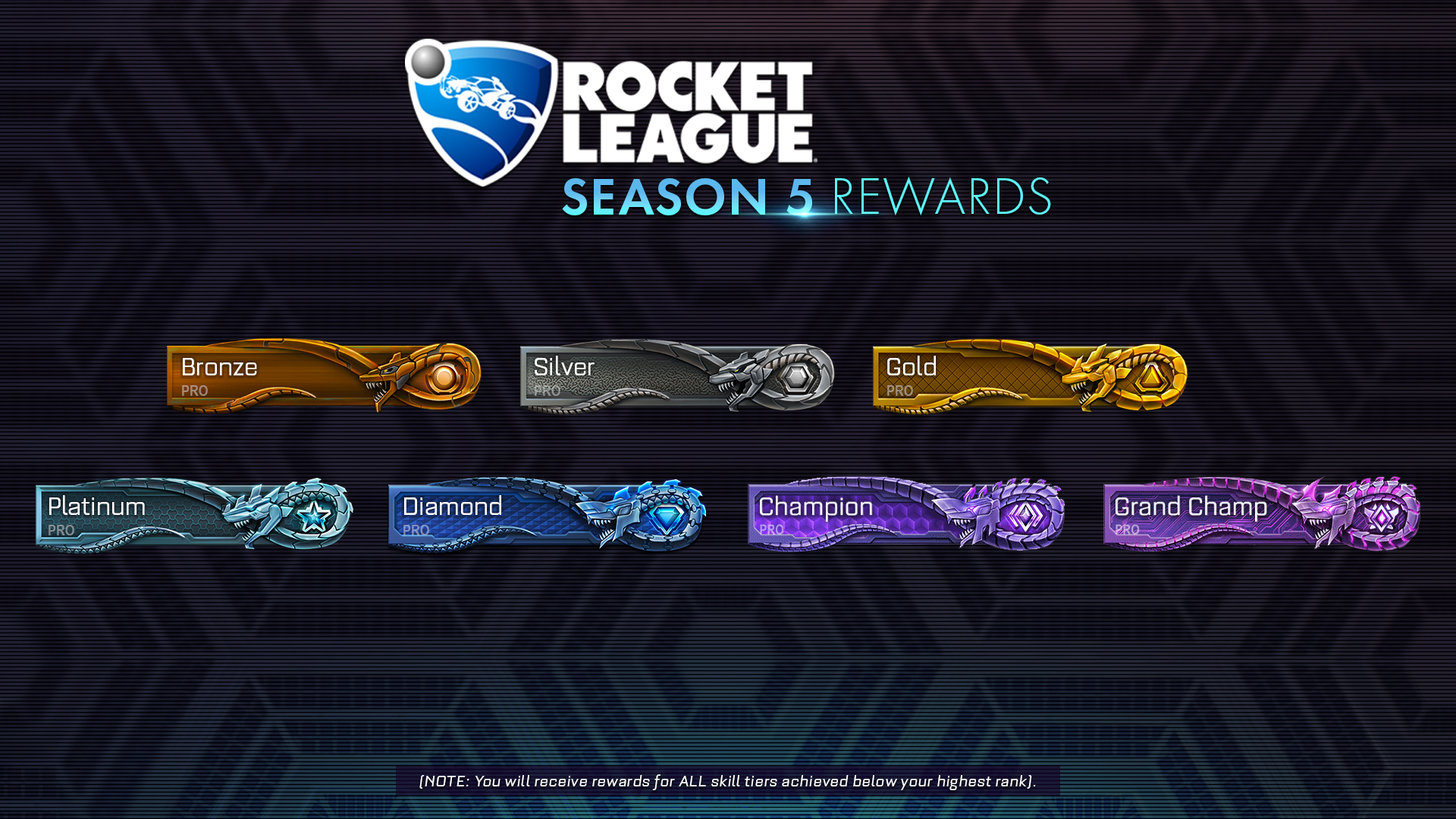 Season 5 rewards